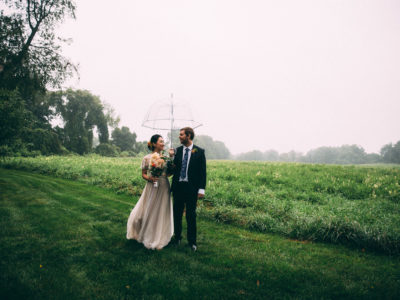 Boram & Brendan Backyard Wedding